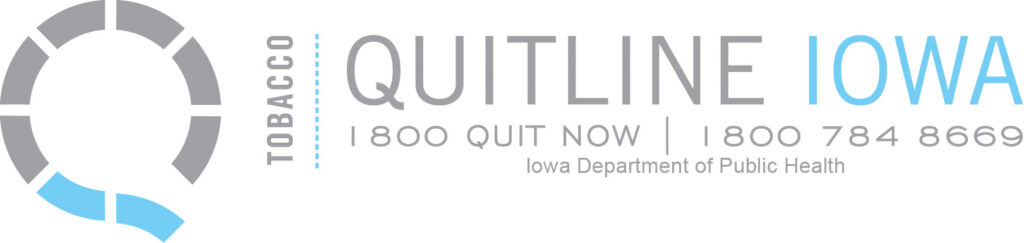 Quitline Iowa logo